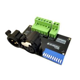 DMX 1 SALIDA RGBW-XLR ARRIBA